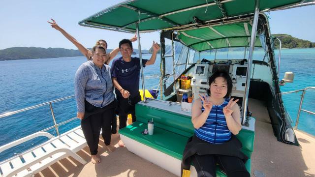 沖縄 慶良間 ダイビング 体験 FUN