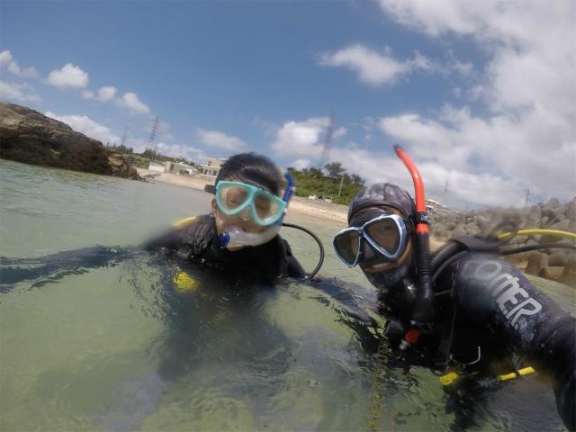 沖縄 観光 ダイビング ビーチ 海