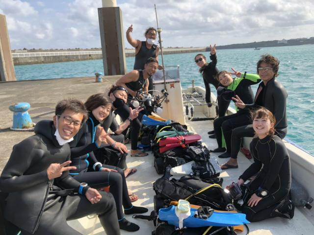 沖縄 ダイビング 与論ツアー