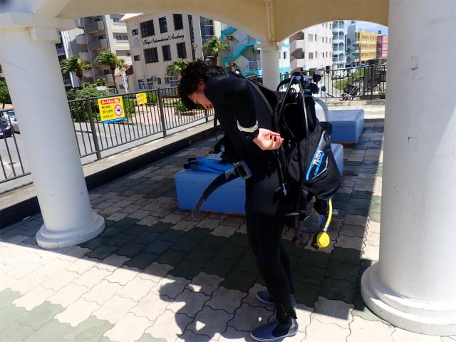 沖縄 ダイビング ナイトロックス エンリッチドエア SP講習