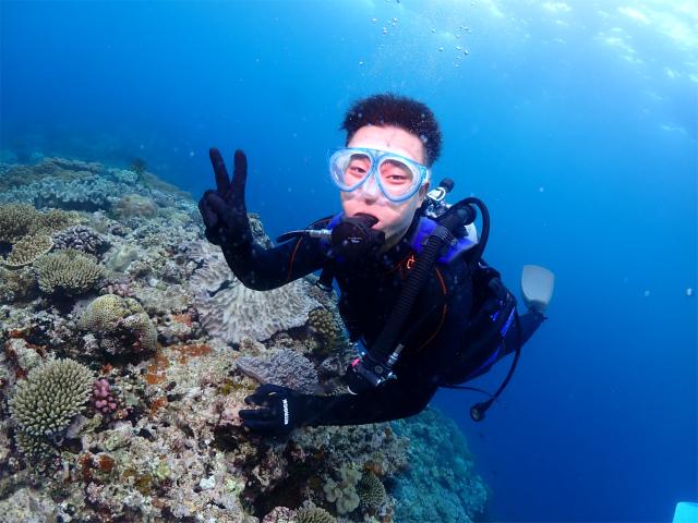 宜野湾 近海 ダイビング 沖縄 観光