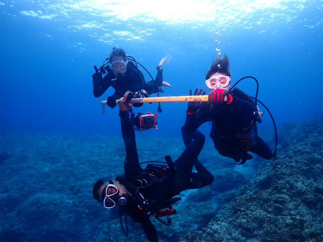 沖縄 慶良間 ダイビング 観光 海