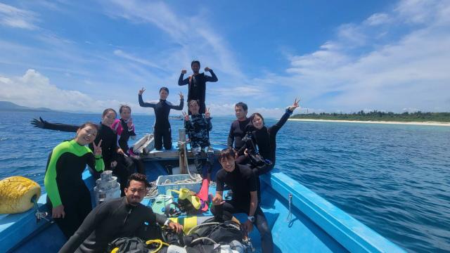 水納島 沖縄 北部 ダイビング 遠征