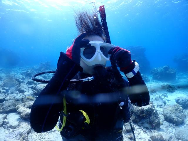 沖縄 diving 慶良間 観光 FUNダイブ