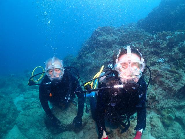 北谷 ダイビング 沖縄 観光 海