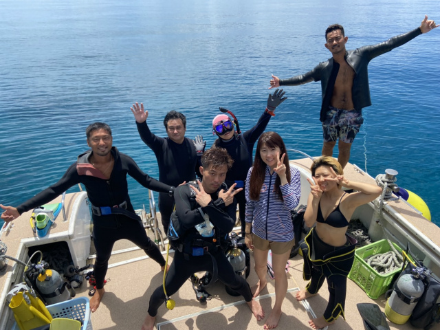 慶良間 チービシ 沖縄 ダイビング 観光