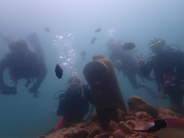沖縄 ビーチ ダイビング 北谷 FUNダイブ