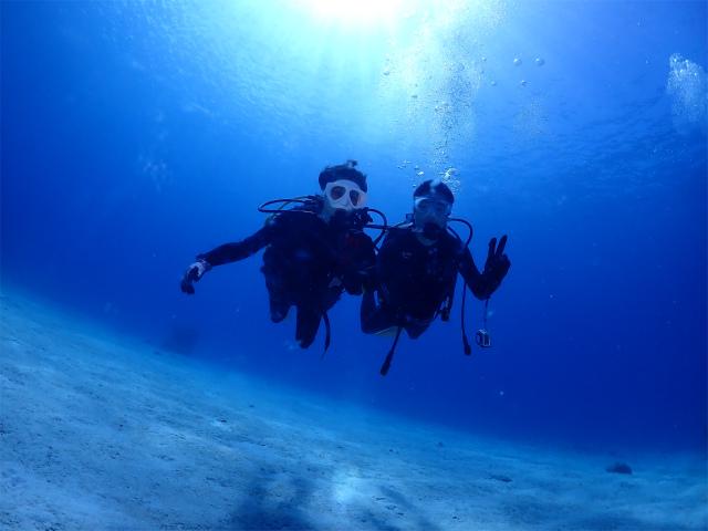 慶良間 ダイビング 沖縄 観光 ボートダイブ