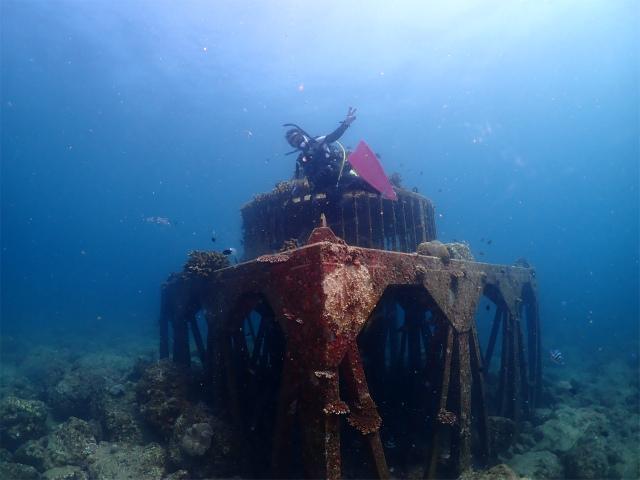 沖縄 北谷 ダイビング ボート FUN