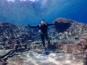 沖縄 慶良間 ダイビング diving ボート 海
