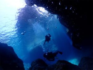 沖縄 慶良間 チービシ 地形 ダイビング