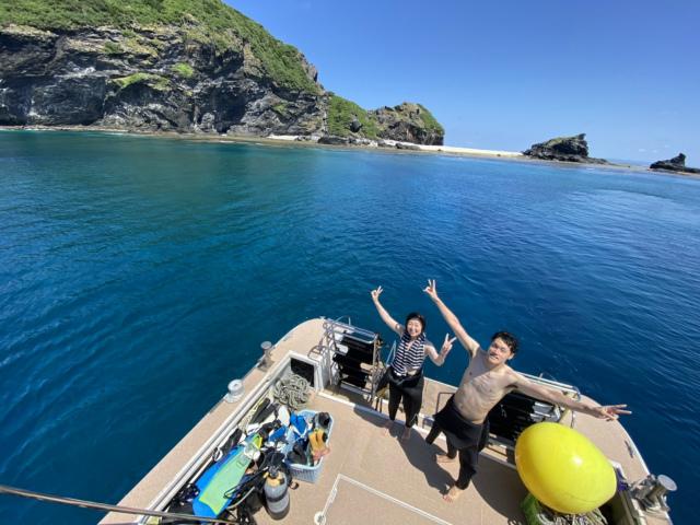 沖縄 慶良間 ダイビング ボート FUN
