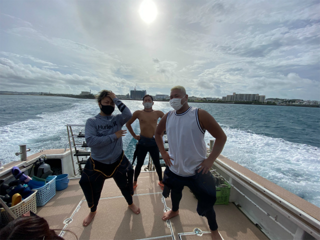 沖縄 慶良間 体験 FUN ダイビング