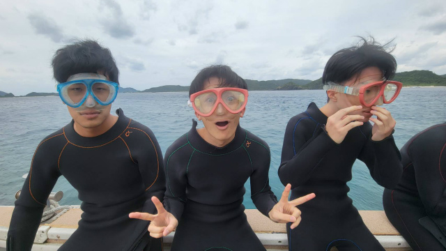 慶良間 沖縄 観光 ダイビング 海