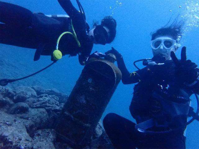 沖縄 ナイトダイブ 北谷 ダイビング 海