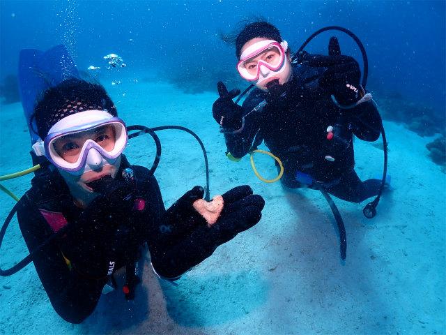沖縄 ダイビング チービシ