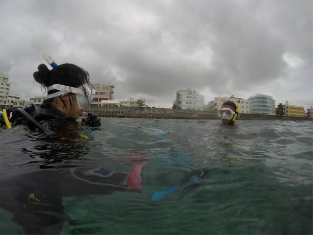 ダイビング 砂辺 北谷 沖縄 講習